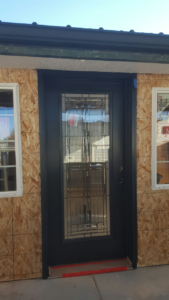 Custom Door on Room Addition